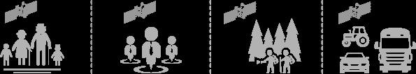 Применение АвтоГРАФ-Mobile (ГЛОНАСС / GPS) • PERSONAL TRACKER